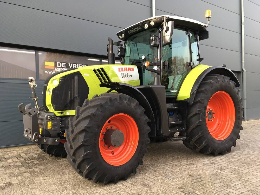 CLAAS Arion 660 CIS + C-MATIC, Tractors, Agriculture