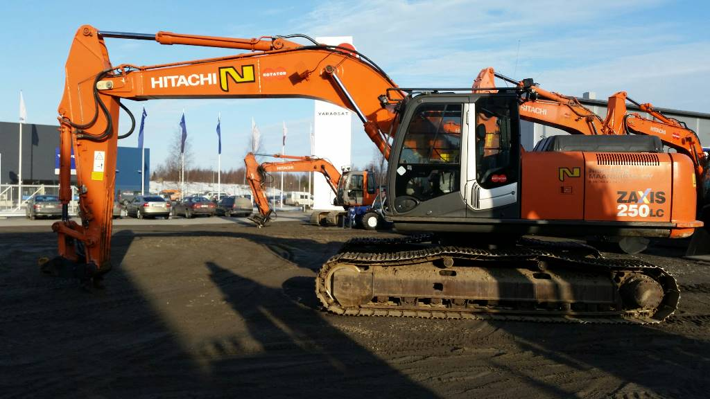 Hitachi ZX250LC-3, Crawler excavators, Construction