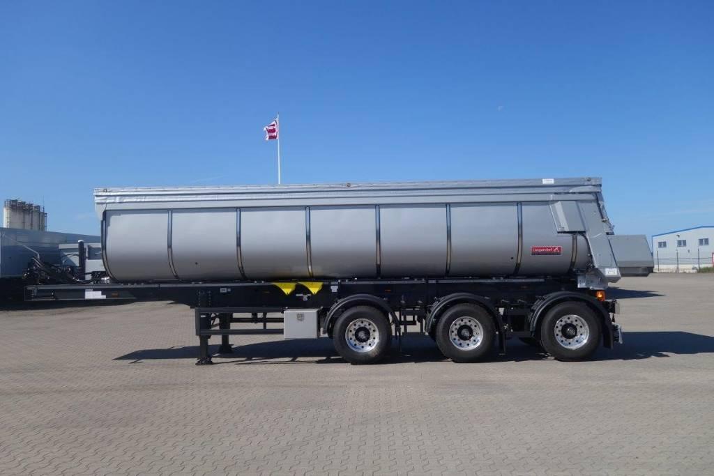Langendorf - Fabriksny 29 kubiks asfaltstrailer, Tippsläp, Transportfordon