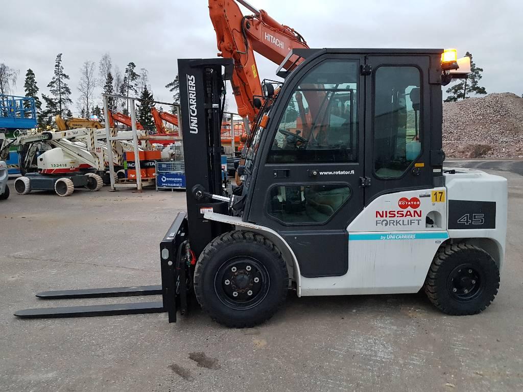 Nissan DG1F4A45Y, Dieseltrukit, Materiaalinkäsittely