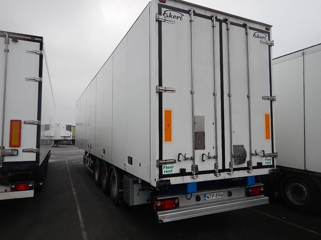 Ekeri FRC puoliperävaunu eurooppamittainen WTP-894, Temperature controlled semi-trailers, Transportation