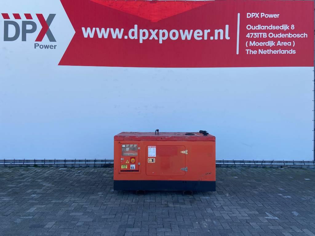 Himoinsa HYW-35 T5 - Yanmar - 35 kVA Generator - DPX-12162, Diesel generatoren, Bouw