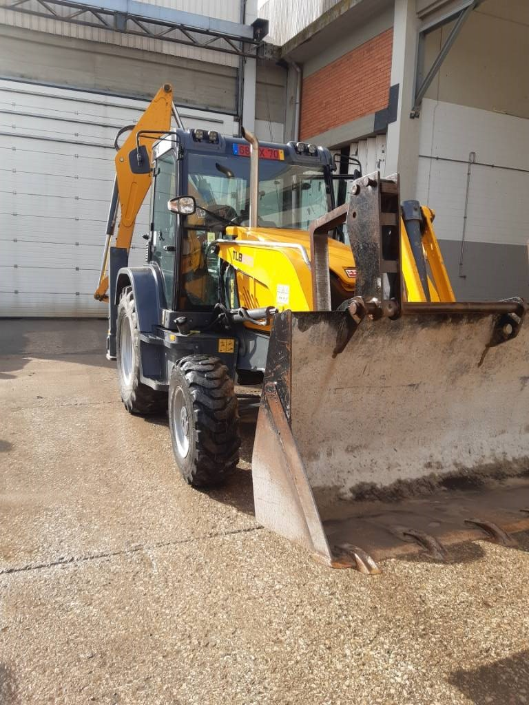 Terex TLB 870, Backhoe Loaders, Construction Equipment