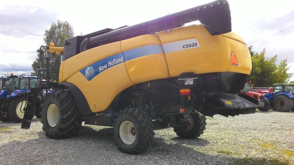 New Holland CX 820 SL, Kombainid, Põllumajandus