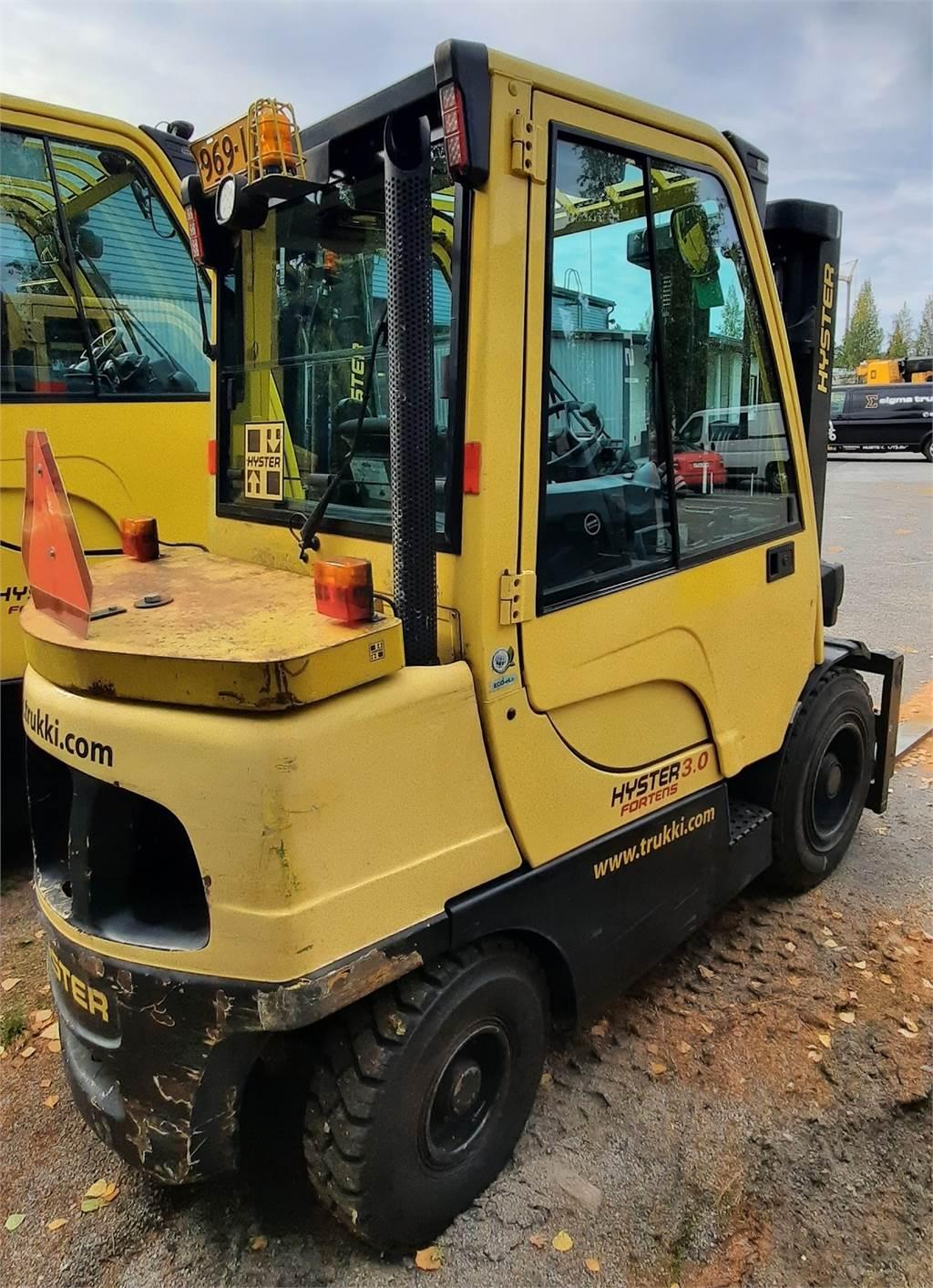 Hyster H 30 FT, Dieseltrukit, Materiaalinkäsittely