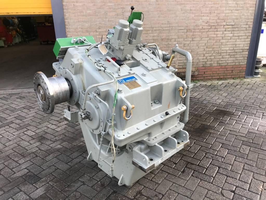 Reintjes WAF 1140 - Marine Transmission 3.15:1 - DPH 104034, Transmissions, Construction
