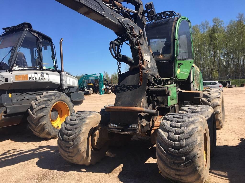 John Deere 1070 E, Harvesters, Forestry