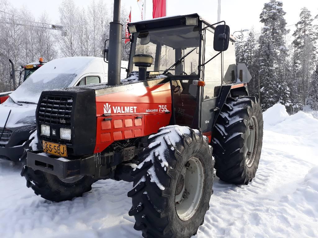 Valmet 755-4 Hi Troll, Traktorit, Maatalous