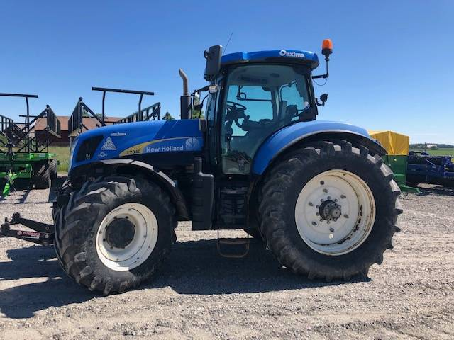 New Holland T 7040 AC, Traktorer, Lantbruk