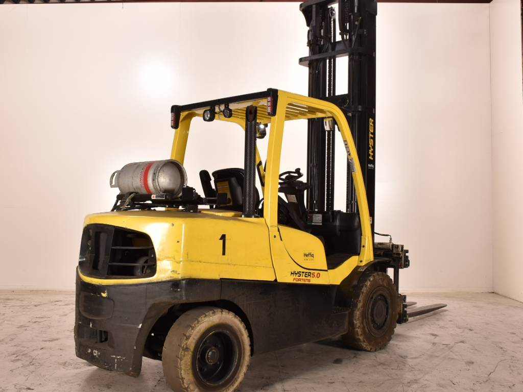 Hyster h5.5ft, LPG counterbalance Forklifts, Material Handling