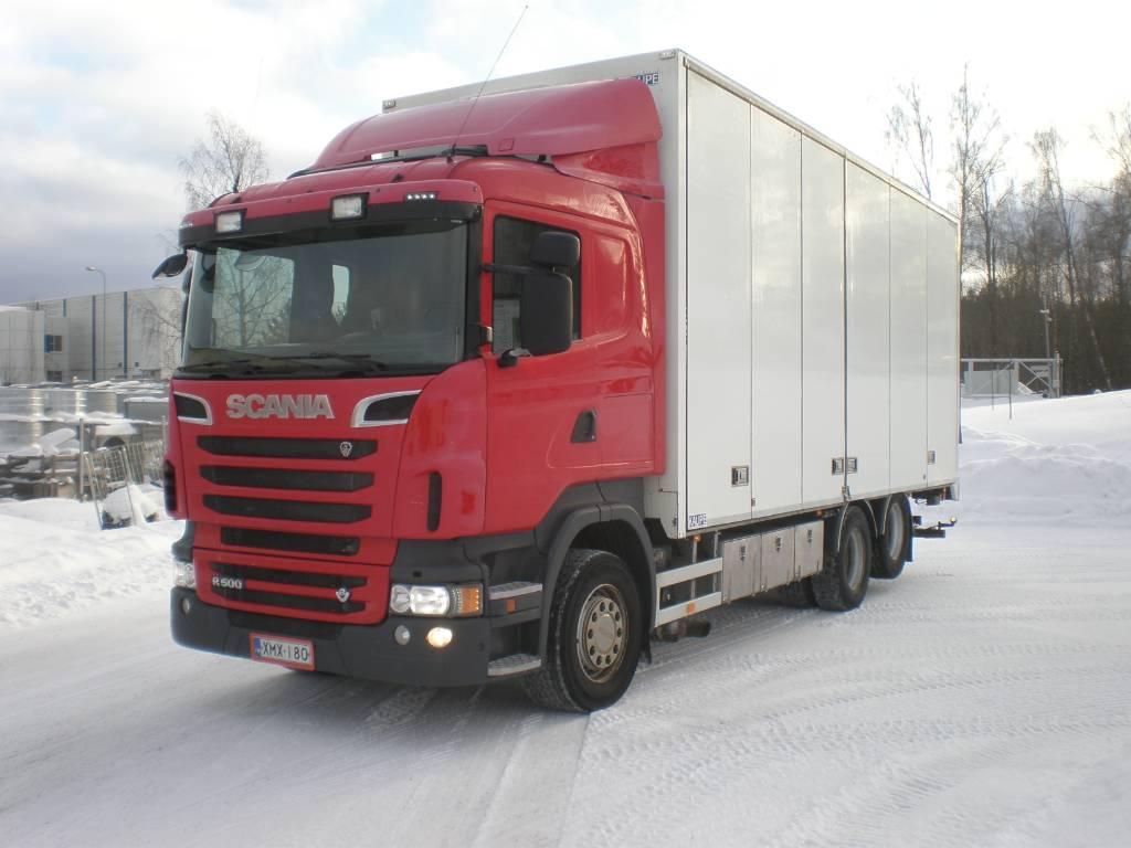 Scania R 500, Box trucks, Trucks and Trailers