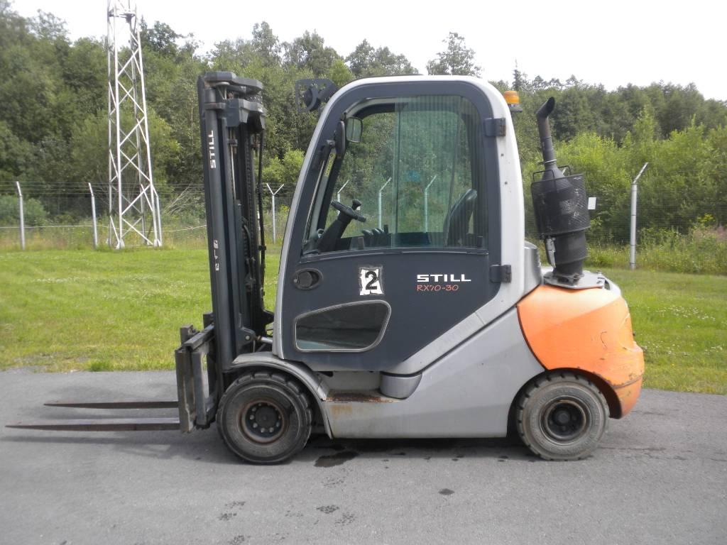 Still RX70-30, Diesel trucks, Material Handling