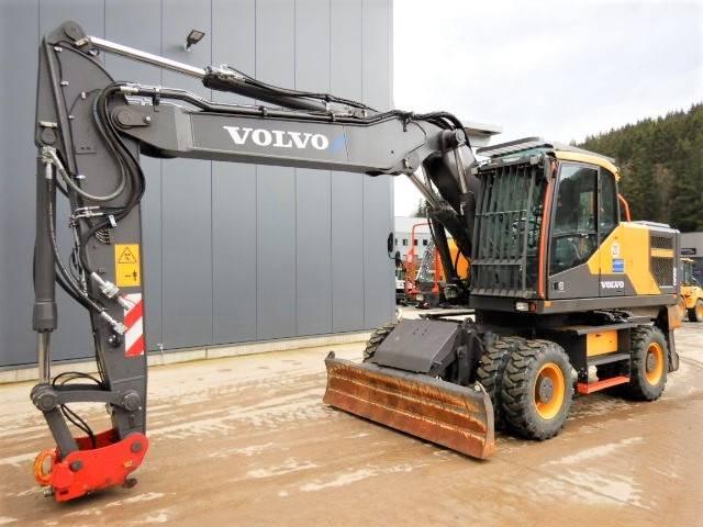 Volvo EW 180 E, Wheeled Excavators, Construction Equipment