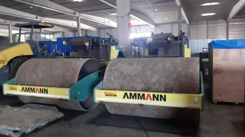 Ammann ARS 121 (2 pieces), Single drum rollers, Construction