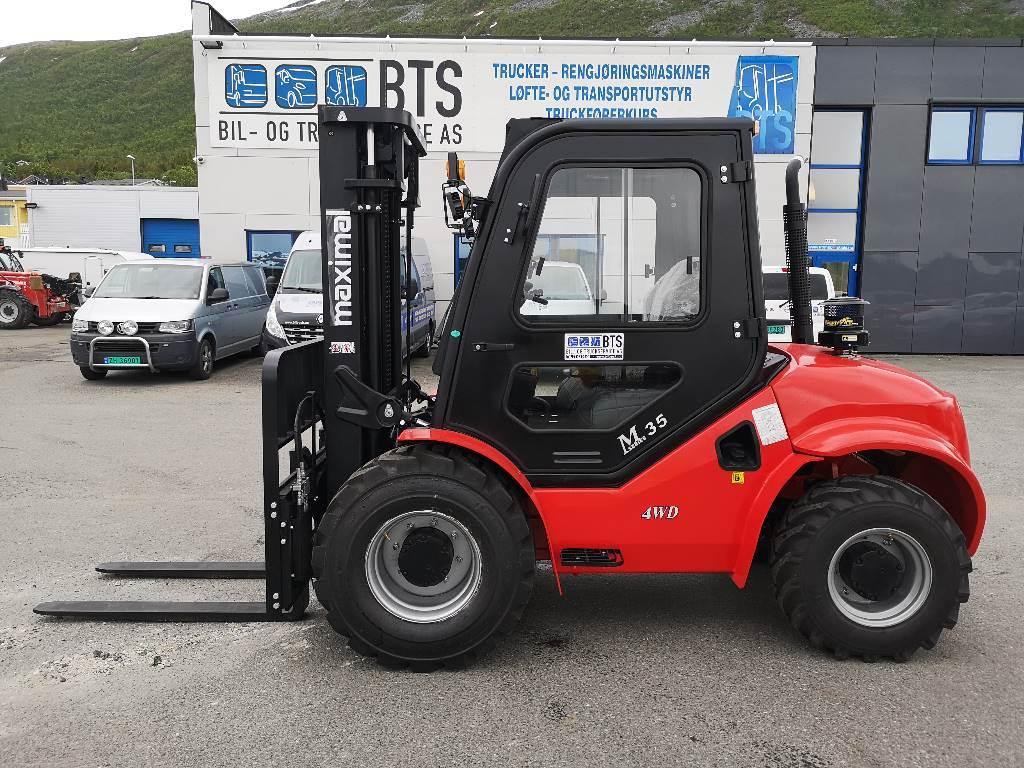 Maximal FD35T - 3,5 t diesel 4x4 - 4,35 m LH (PÅ LAGER), Diesel Trucker, Truck
