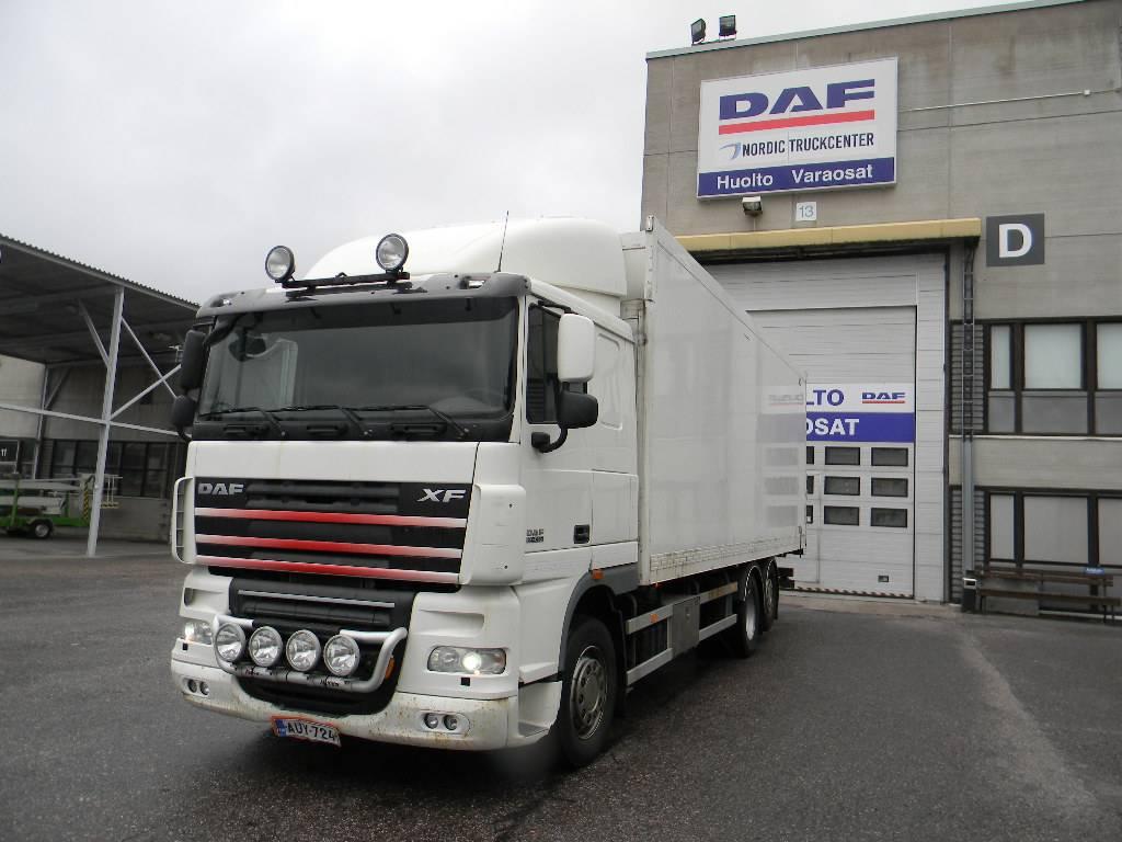 DAF XF105.460, Reefer Trucks, Trucks and Trailers