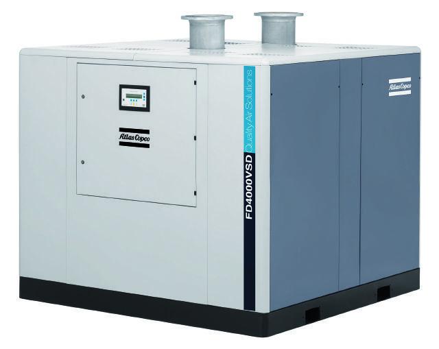 Atlas Copco FD 4000 W VSD, Compressed air dryers, Industrial