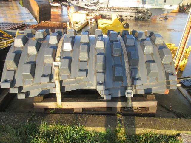 Bomag BW219 Footpad kit, Compaction Equipment Accessories, Construction Equipment
