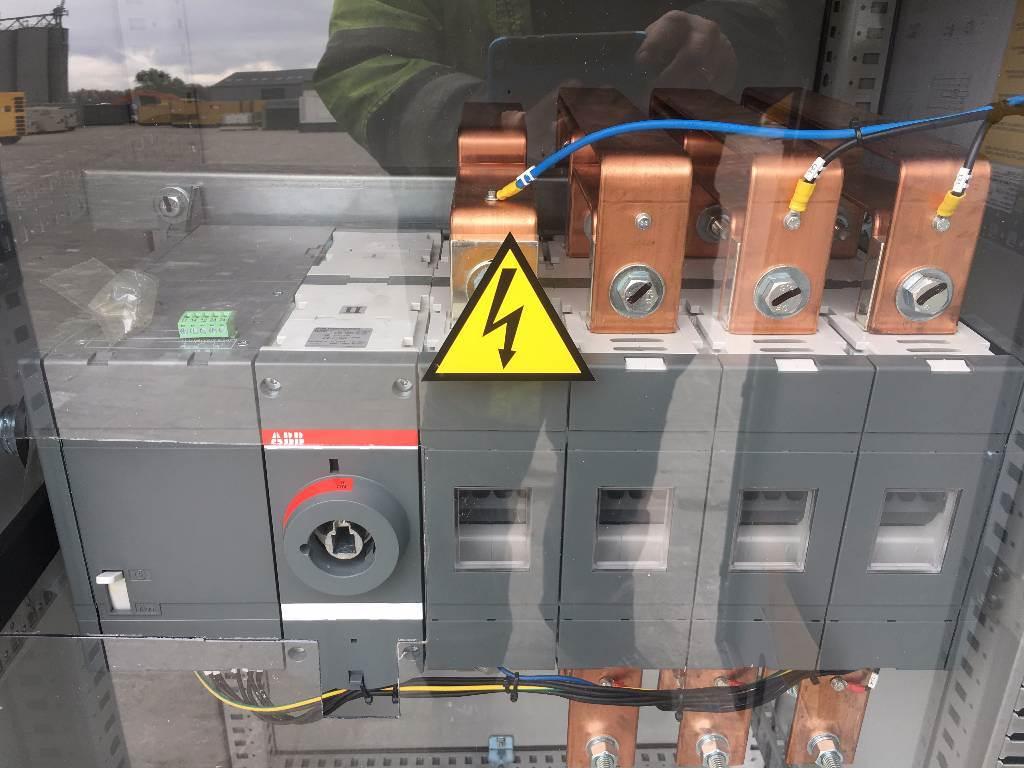 ATS Panel 1250A - Max 865 kVA - DPX-27510, Anders, Bouw