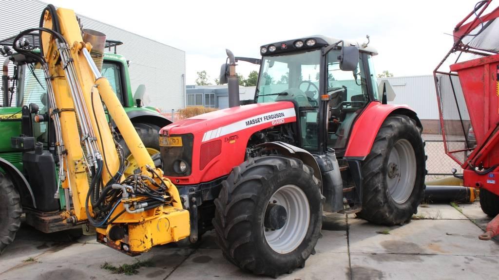 Massey Ferguson 6480 Dyna-6 Herder Grenadier MBKA 180 S Veenhuis, Tractoren, Landbouw