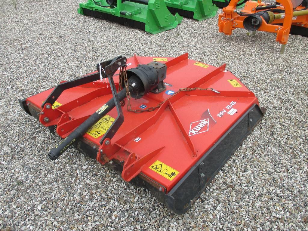 Kuhn BAV 1545 afpudser, Græsslåmaskiner, Landbrug