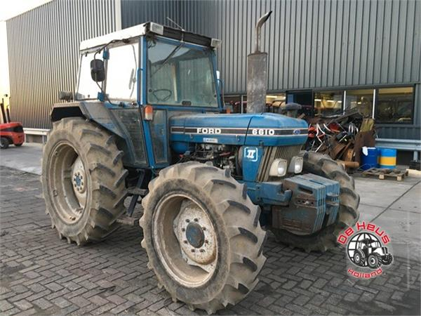 Ford 6610 4wd.