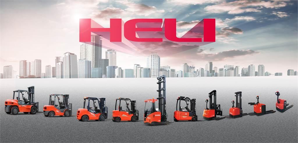Heli CBD20-180 - 2,0 tonns palletruck, Lavtløftende truck, Truck