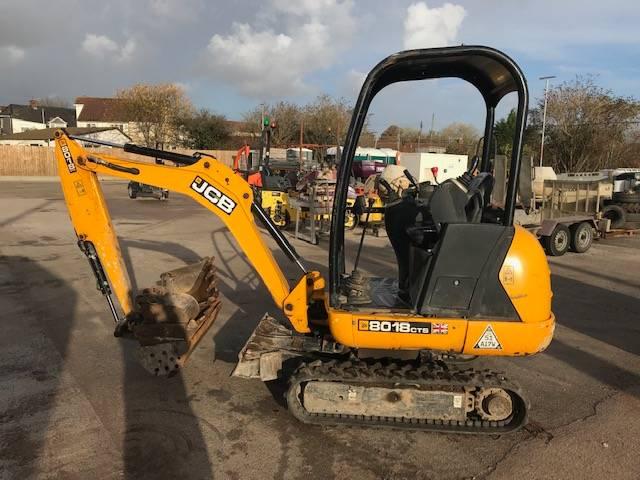JCB 8018 CTS, Mini excavators < 7t (Mini diggers), Construction
