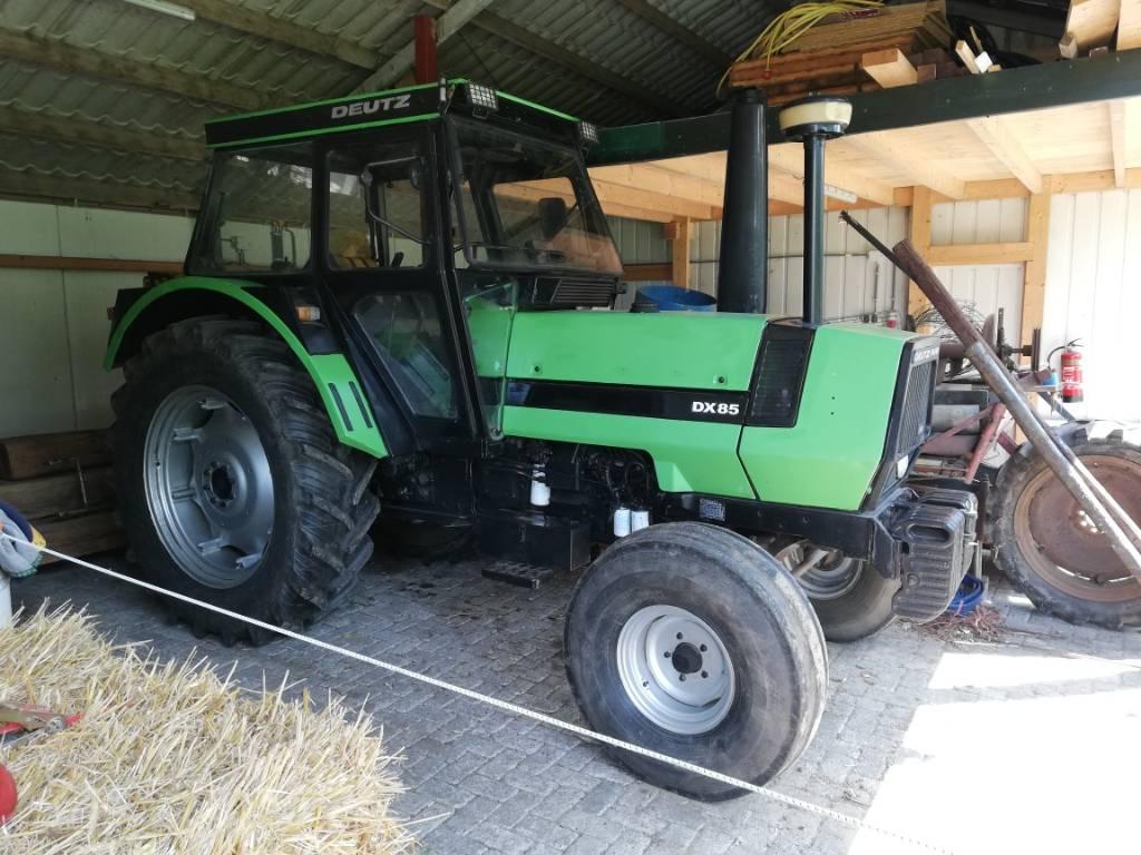 Deutz DX 85, Tractors, Agriculture