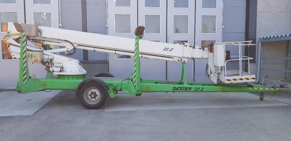Dexter 25Z, Skylift, Entreprenad