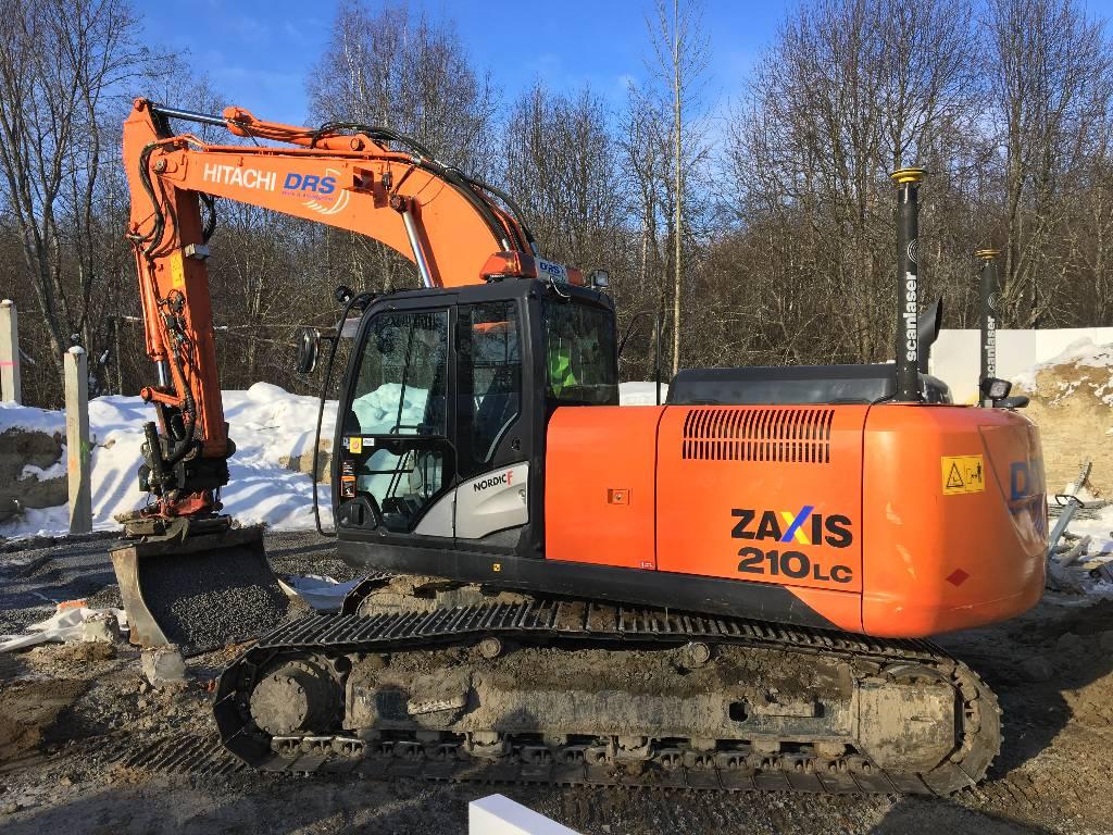 Hitachi ZX 210 LC-5/UMEÅ, Crawler Excavators, Construction Equipment