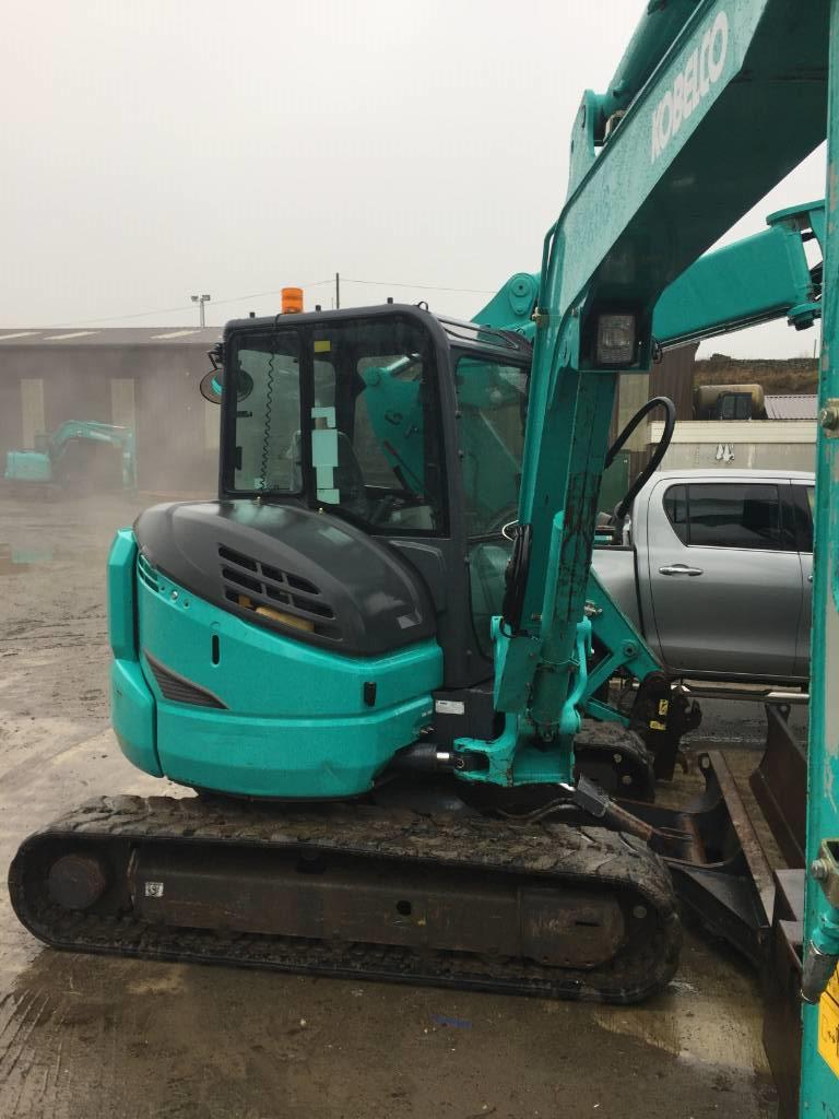 Kobelco SK 55 SRX-6, Mini excavators < 7t (Mini diggers), Construction