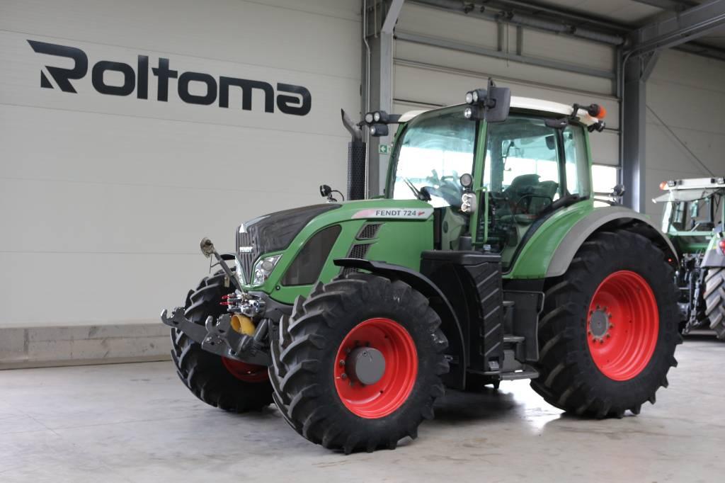 Fendt 724 Profi, Traktory, Maszyny rolnicze