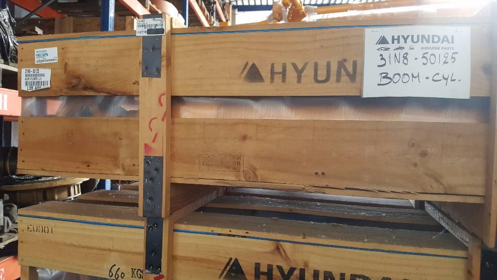 Hyundai Boom Cylinder LH Robex 290 LC-7, 31N8-50125, Hydraulics, Construction
