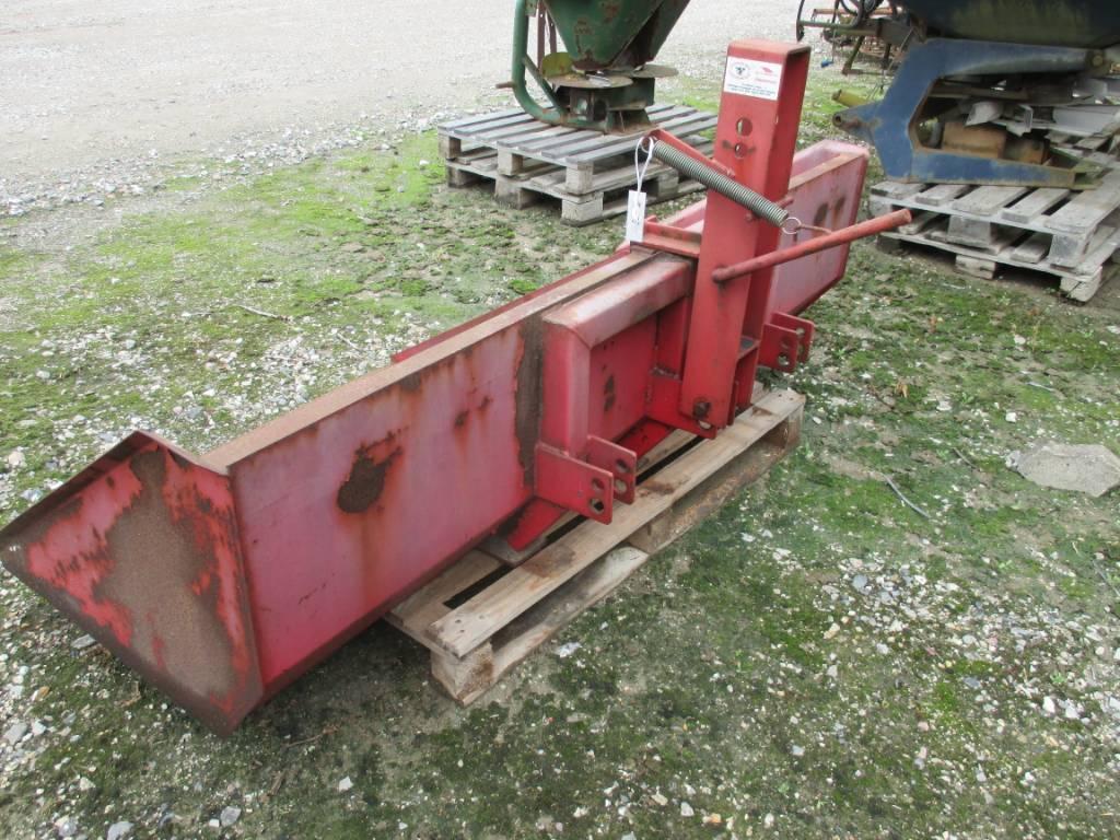 [Other] Bagtipskovl 2 m., Andre landbrugsmaskiner, Landbrug