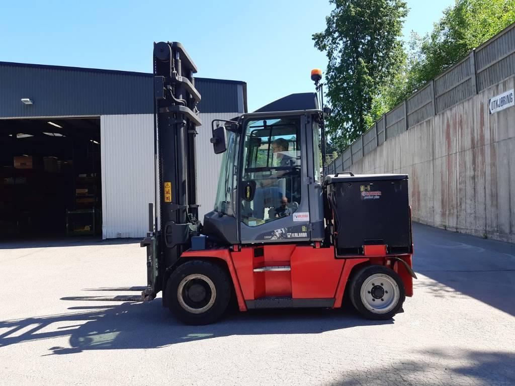 Kalmar ECG50-6, Electric forklift trucks, Material Handling