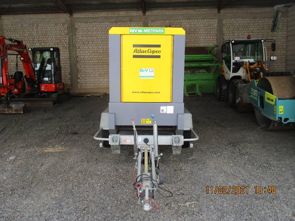 Atlas Copco QAS 80, Diesel Generatoren, Baumaschinen