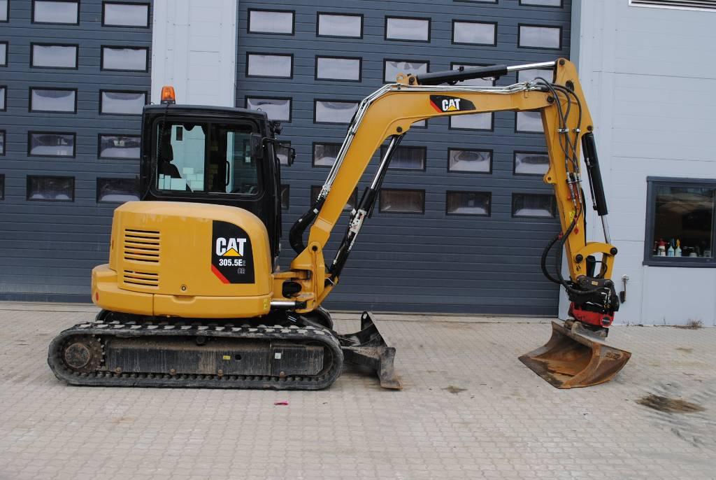 Caterpillar 305,5E, Minigraafmachines < 7t, Bouw