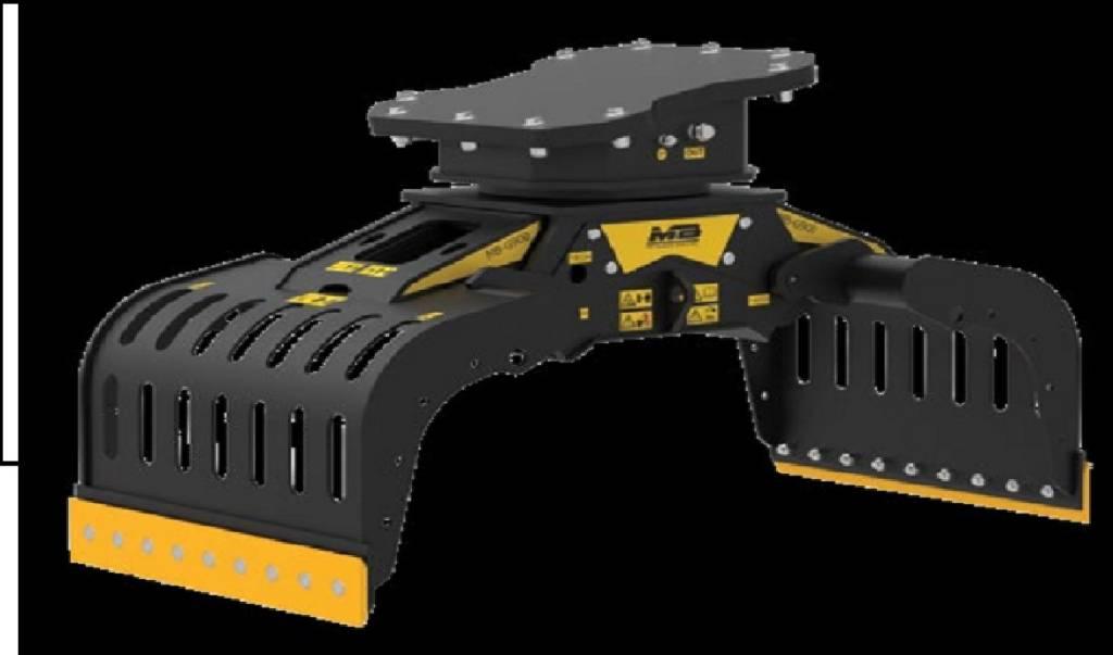 MB Crusher G 900, Gripar, Entreprenad