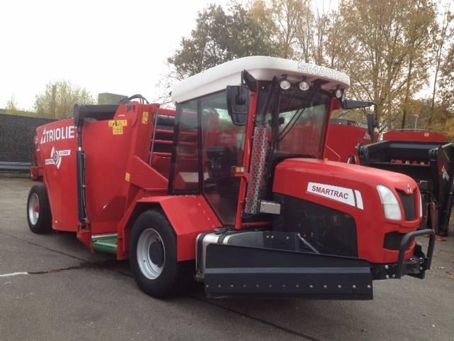 Trioliet Smartrac G 1000 VL, Voermengwagens zelfrijdend, Landbouw