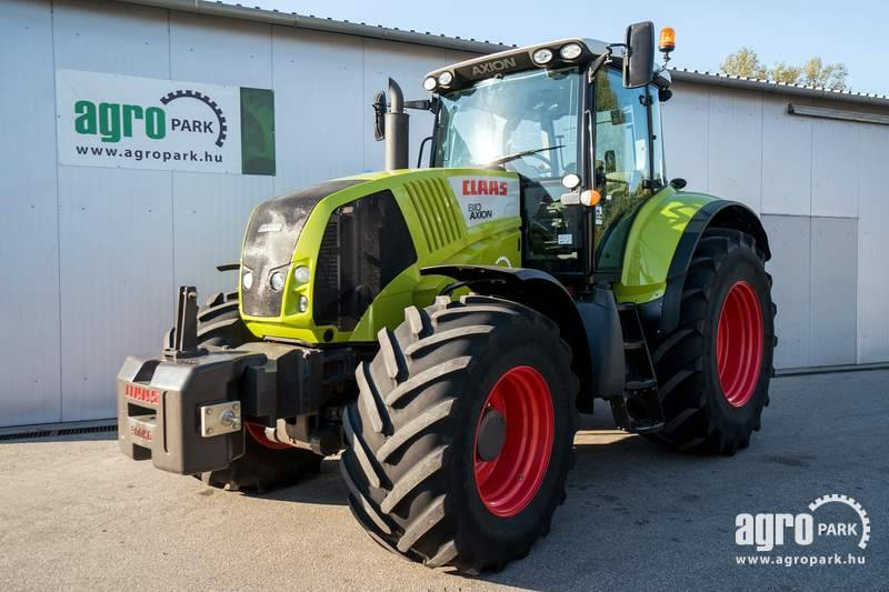 CLAAS Axion 810 (2670 hours), Hexashift 24 24, 50 km h