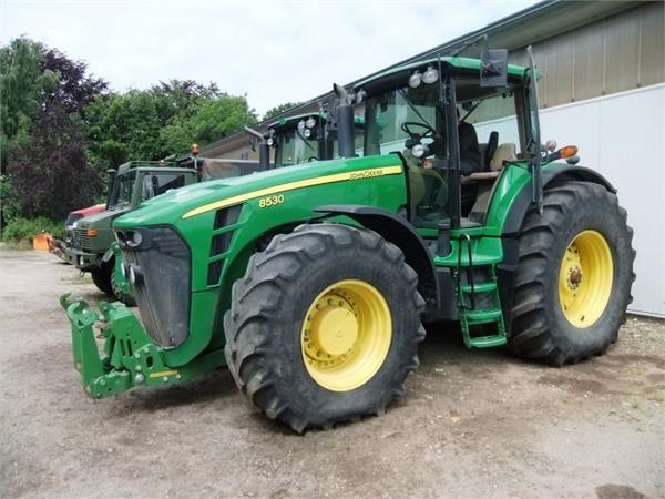 used john deere 8430 auto power tractors year 2007 price. Black Bedroom Furniture Sets. Home Design Ideas