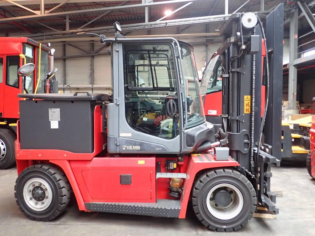 Kalmar ECG70-6, Elektro Stapler, Flurförderzeuge