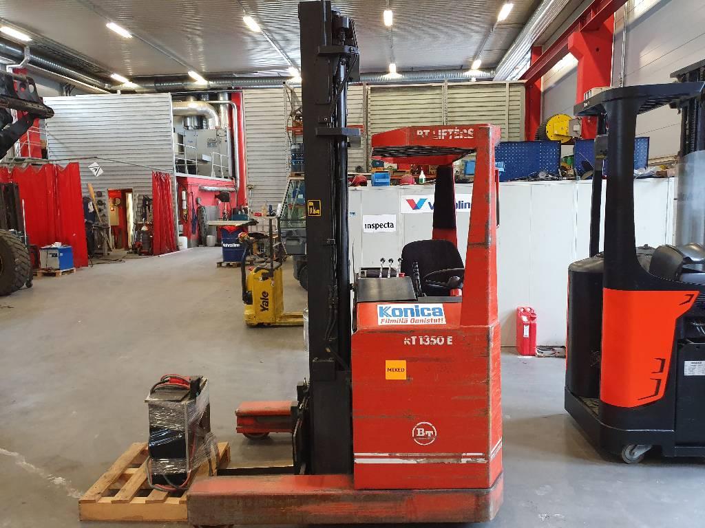 BT RT 1350 E, Työntömastotrukit, Materiaalinkäsittely
