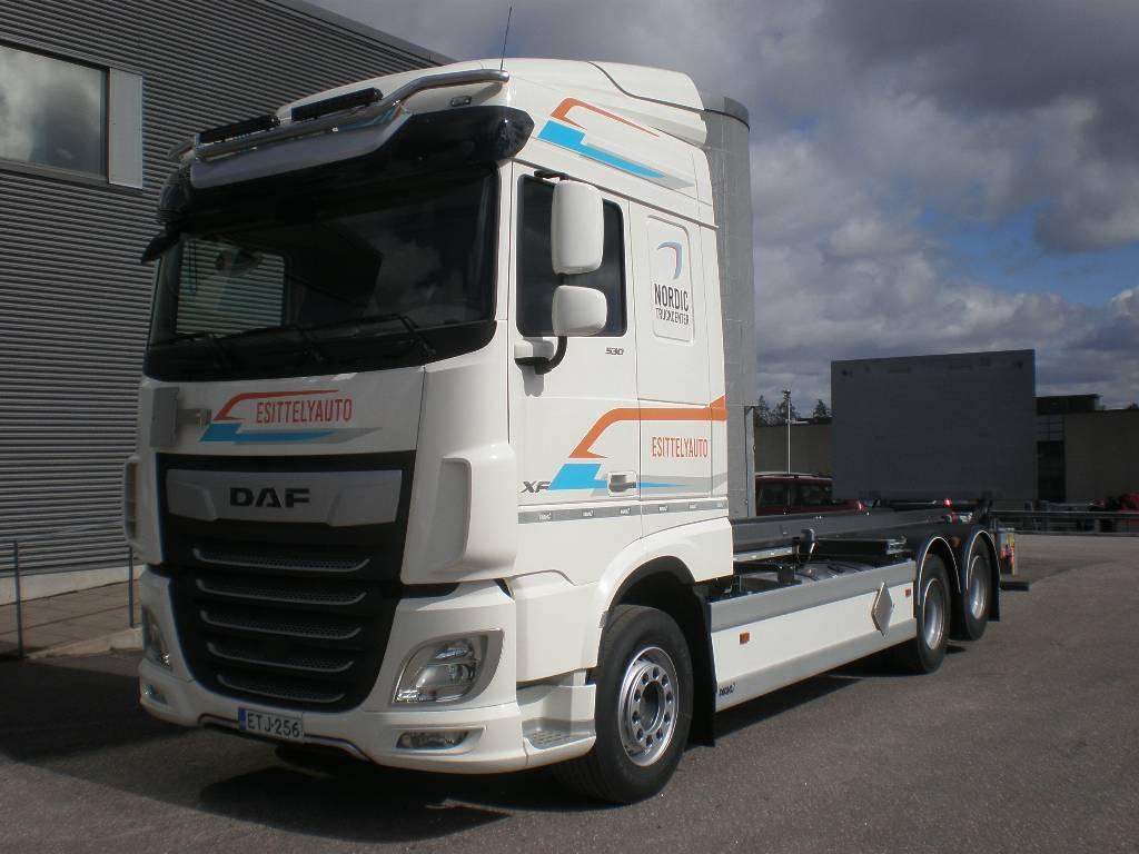 DAF XF 530 Tasonosto *Esittelyauto*, Container Trucks, Trucks and Trailers