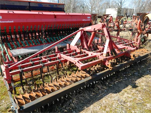 Agrodan 4, Kombinētās sējmašīnas, Lauksaimniecība