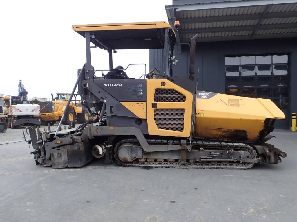 Volvo 8820 C, Asphalt pavers, Construction Equipment