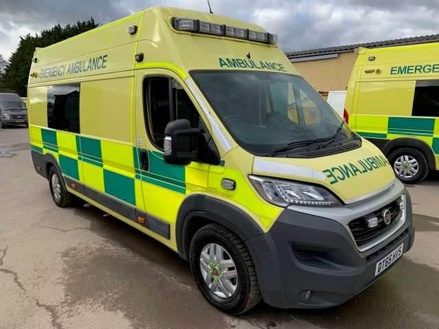 Fiat Ducato A&E, Ambulances, Trucks and Trailers
