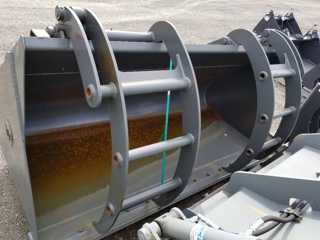 "Werk-Brau 84"" Bucket with Grapple, Wheel Loader Attachments, Products"