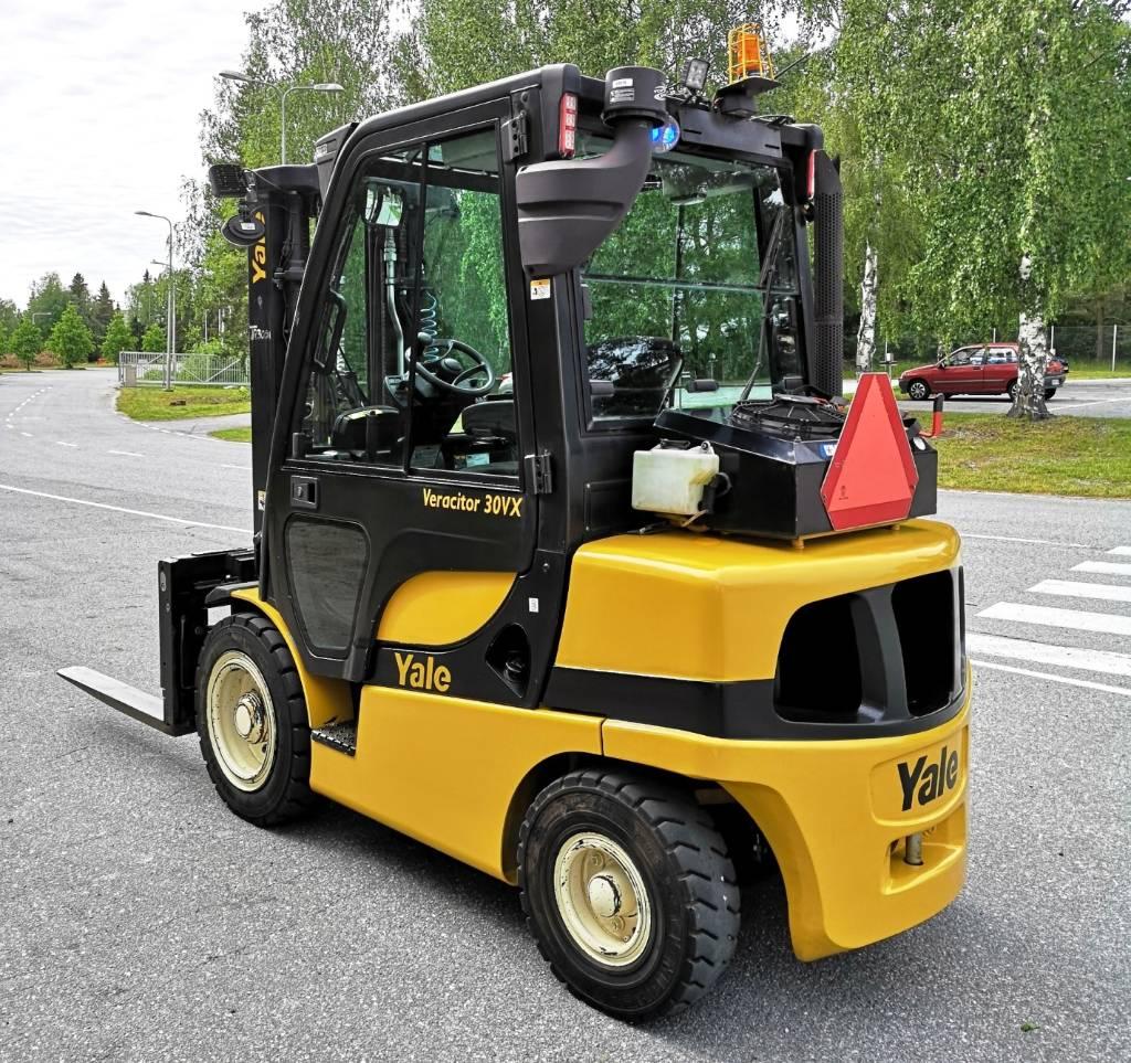 Yale GDP30VX, Dieseltrukit, Materiaalinkäsittely